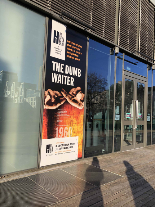 Hampstead theatre Dumb Waiter