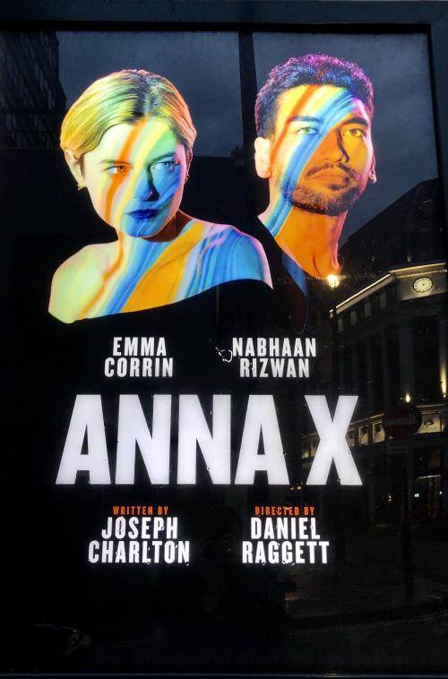 Anna X Harold Pinter Theatre poster